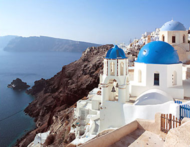 Santorini, paradisul indragostitilor